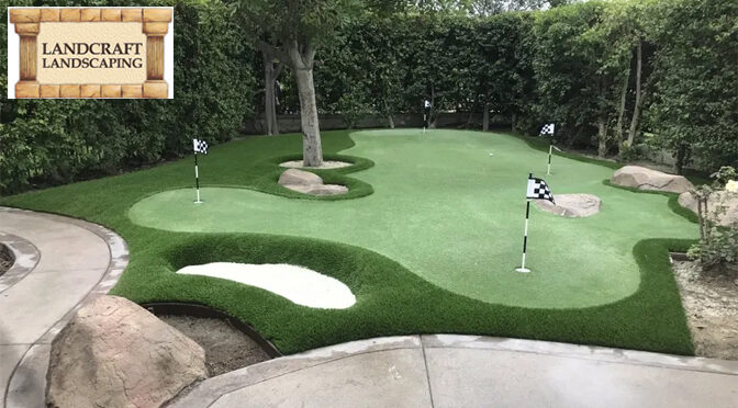 Top Considerations While Adding Putt Putt Golf to Your Landscape Design